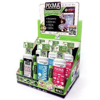 PIXMA KREEN GERM KILLER 100mlน้ำยาทำความสะอาดและฆ่าเชื้อโรค 1กล่องคละกลิ่น (แอปเปิ้ล คิเรอิ กาสะลอง)