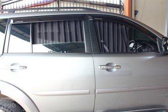 PMD ผ้าม่านบังแดดรถยนต์/ที่กันแดดรถ - Pajero Sport (2 บานหลัง)