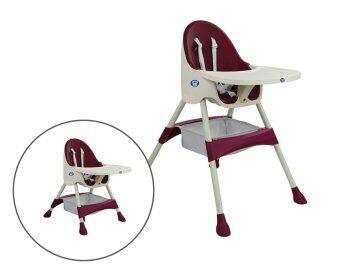 PrincePrincess เก้าอี้ทานข้าวเด็ก รุ่น Thronie 2 ( สีน้ำเงิน )