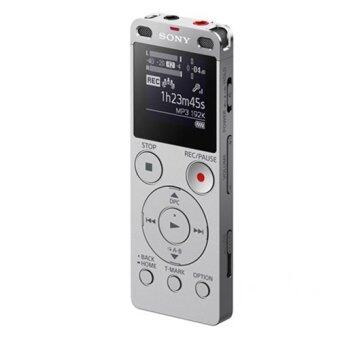 Sony เครื่องบันทึกเสียง รุ่นICD-UX560F/SC IC Audio Recorder (สีเงิน)