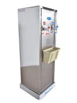 Standard By Rwc ตู้ทำน้ำเย็น-น้ำร้อน สแตนเลส รุ่น ST15 HC (Silver)
