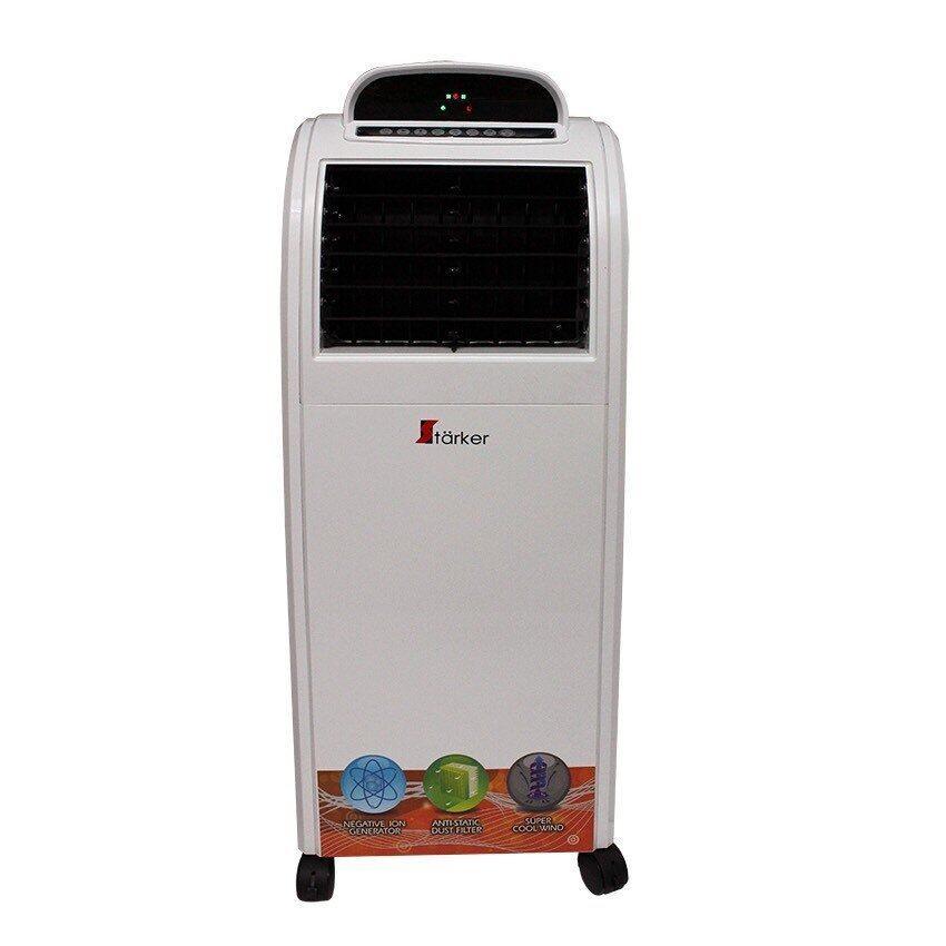 Starker พัดลมไอเย็นมีระบบIonizer (สีขาว) แถมเจลเพิ่มความเย็น 2 ชิ้น โปรโมชั่นวันนี้เท่านั้น