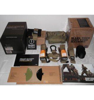 TRX FORCE Kit+ Push up Stand สร้างซิกแพก สร้างกล้ามเนื้อ Full Set รุ่น Force Tactical พร้อมที่ค้ำวิดพื้น