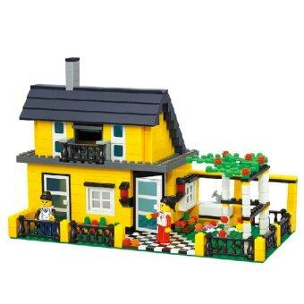 WANGE ตัวต่อบ้าน(House) WANGE-32051จำนวน449ชิ้น