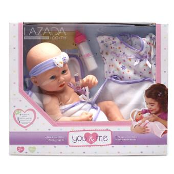 ตุ๊กตาเด็ก ตุ๊กตาทารก ตุ๊กตาเด็กทารก - YOUME 12\ NEW BORN BABY IN SLEEPWEAR (833271)